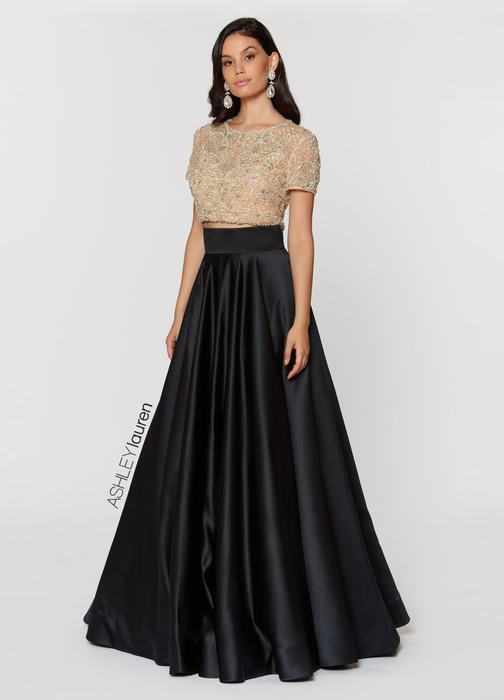 Beaded Two Piece Ball Gown