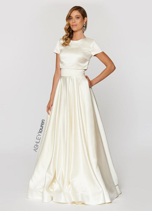 Two Piece Ball Gown