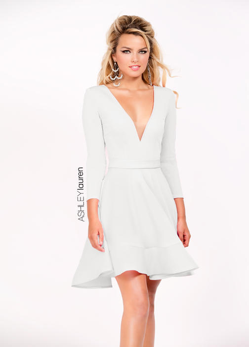 A-Line Jersey Cocktail Dress