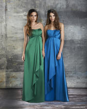 Long Satin Maternity
