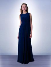 Bill Levkoff 997 Bridesmaid Dress Sheer Jewel Neckline
