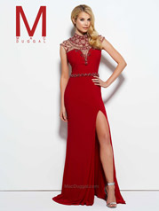 10093M Red/Nude front