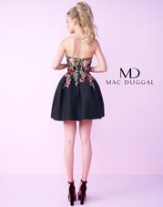 40683N Black Floral back