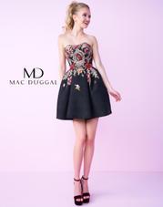 40683N Black Floral front