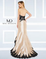 62819R Nude/Black front