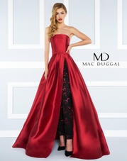 62899-4592R Mac Duggal Black White Red