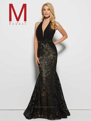 65411M Black/Nude front