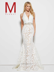 65411M Ivory/Nude front