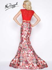 65935A Red Multi back