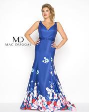 66005F Blue Floral front