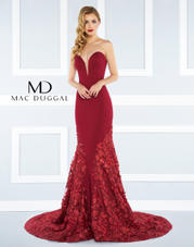 66218R Mac Duggal Black White Red