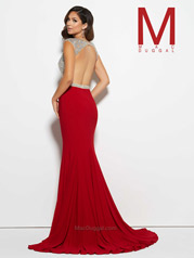 76976M Red/Nude back
