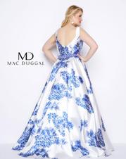 77176F Blue Floral back