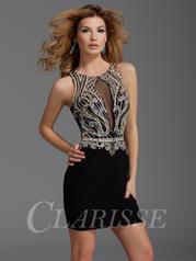 Clarisse Short Cocktail Dress