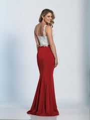 A4882 Red/Ivory back
