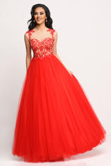 71631 Red/Nude front