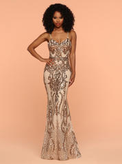 71905 Gold/Nude front