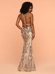 71905 Gold/Nude back