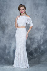 1364 White/Nude front