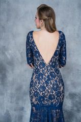 2116 Navy/Nude back
