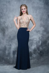 2130 Navy/Gold front