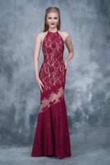 2141 Burgundy/Nude front