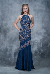 2141 Navy/Nude front