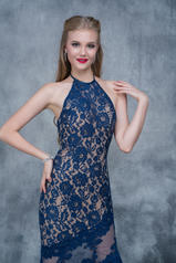 2141 Navy/Nude detail