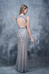 8143 Nude/Silver back