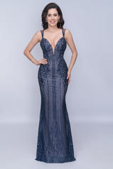 8155 Navy/Nude front