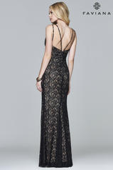 7995 Black/Nude back