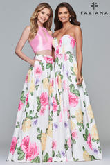 10047 Ivory/Pink/Pink front