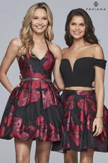 S10157 Black/Ruby front