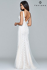 S8089 Ivory/Nude back