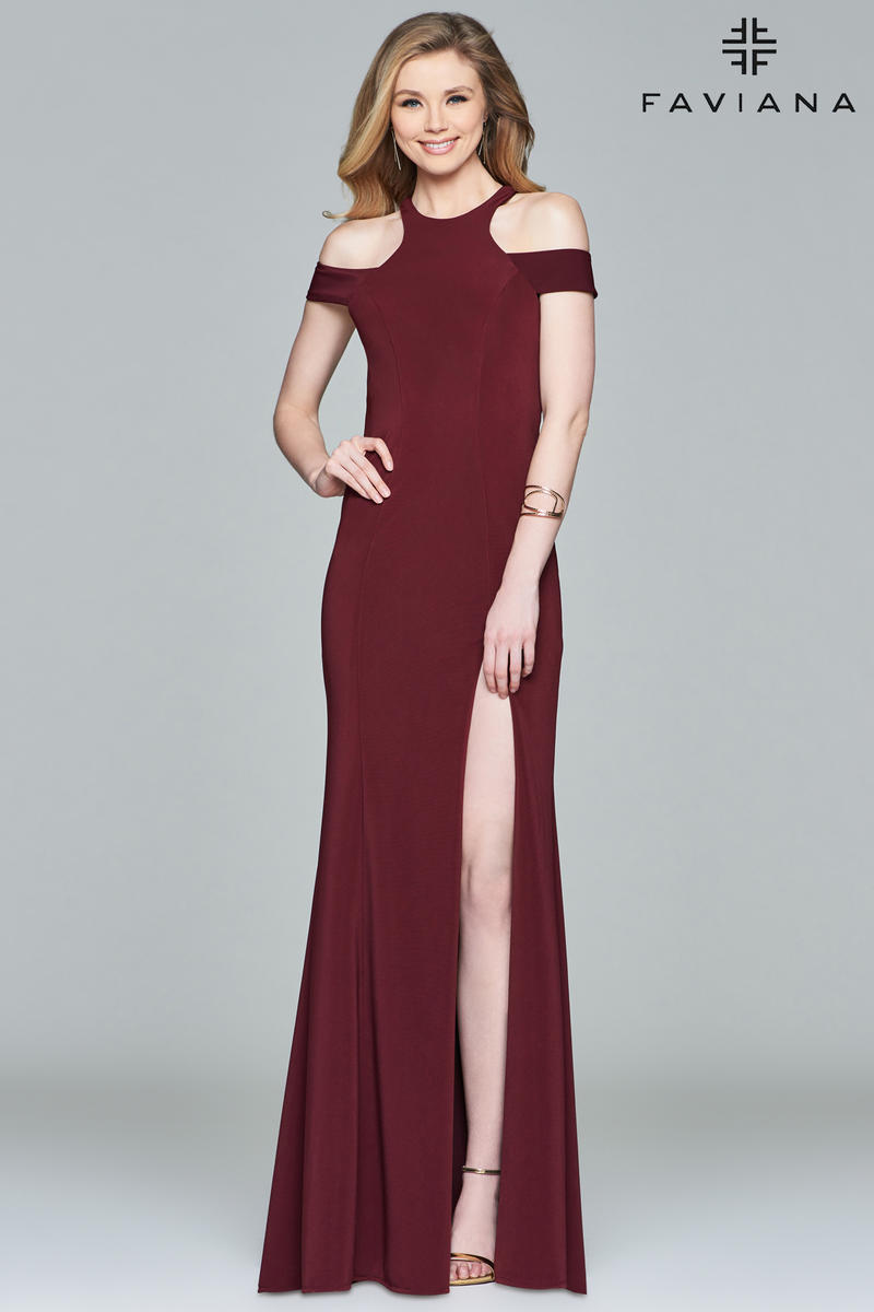 Faviana 8086 Faviana PZAZ DRESSES,THE BEST DRESS STORE ON LONG ISLAND