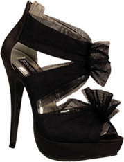 Black Stiletto Platform