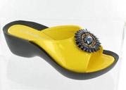 CFW-7188-3Yellow Helen's Heart Casual Shoes