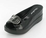 CFW-8127-15Black Helen's Heart Casual Shoes