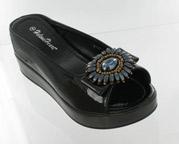 CFW-8127-17Black Helen's Heart Casual Shoes