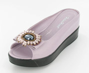 CFW-8127-17LightPurple Helen's Heart Casual Shoes