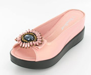 CFW-8127-17Pink Helen's Heart Casual Shoes