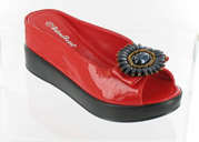 CFW-8127-17Red Helen's Heart Casual Shoes