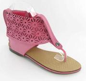 CFW-BP6609-1173_Hot_Pink� Helen's Heart Casual Shoes