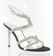 CS-69881-014_Black_Silver_Clear_� Helen's Heart Couture Shoes