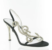 CS-69881-015_Black_&_Clear� Helen's Heart Couture Shoes