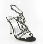 CS-69881-016_Black_&_Silver� Helen's Heart Couture Shoes