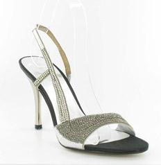 CS-69881-017_Silver_&_Black_Diamond� Helen's Heart Couture Shoes