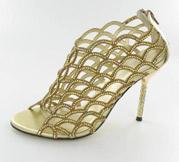CS-AM-69_Gold� Helen's Heart Couture Shoes
