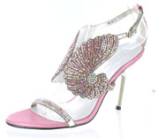 CS-AM-85_Pink� Helen's Heart Couture Shoes