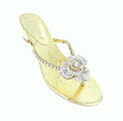 FS-3238-3_Gold_Clear� Helen's Heart Formal Shoes